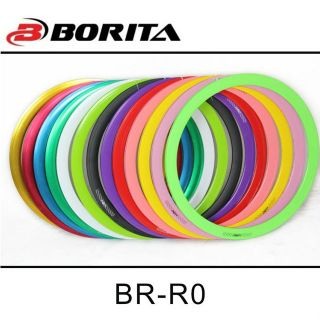 Painted multicolor fixed gear bicycle 40mm 700C alloy aluminium bike rims BR-R0