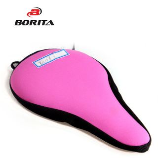 Comfortable Colored  High Quality Custom Designs Waterproof Gel Bicycle Seat Covers/Saddle cover